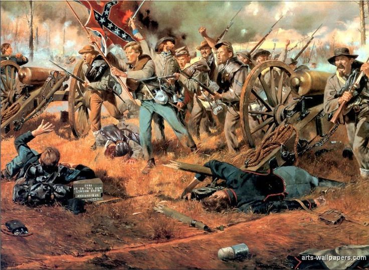 775 best Civil War Battle Art - North & South images on ...