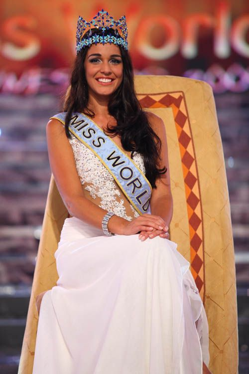 Miss Gibraltar crowned 2009 Miss World in Johannesburg, South Africa!