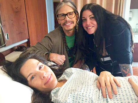 Steven Tyler Gushes About New Grandson, Shares Pic With Daughter ...