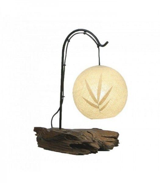 Slovensky-Italiano-English  Jednoduché a zároveň elegantné svietidlo vhodné na nočný stolík, ktoré Vám prinesie nádych prírody priamo do Vašej spálne. Podstavci je vytvorený zo...