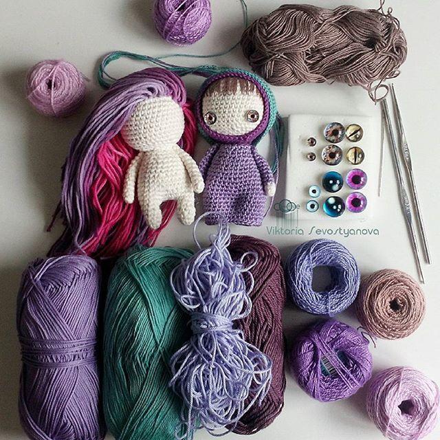 Немного процесса #process #хобби #хендмейд #рукоделие #ручнаяработа #авторскаякукла #авторскаяигрушка #вязаныекуклы  #куклы #куколки #вязание #вязаниекрючком #вязаное #вязаноекрючком #вяжутнетолькобабушки #вязаныезвери #вязаныеигрушки #подарки #hobby #handmade #crochet #knit #doll #knitting #yarn #averse_toys