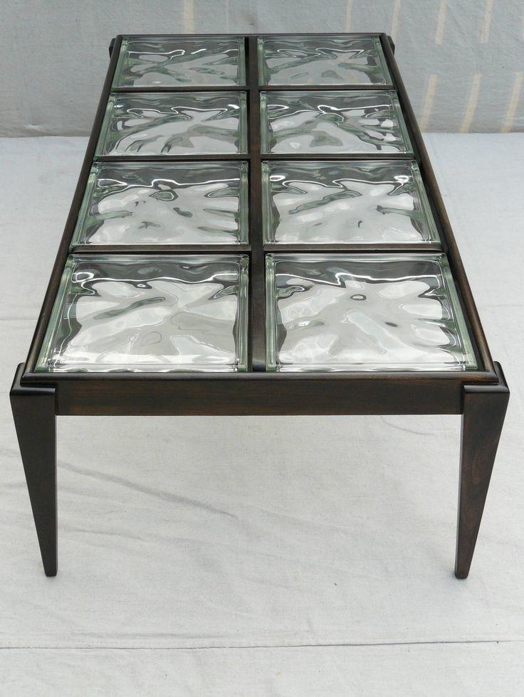 40s Glass Block Coffee Table Glass Blocks Coffee And Glass