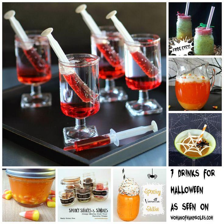 halloween drinks - Great Halloween Drinks