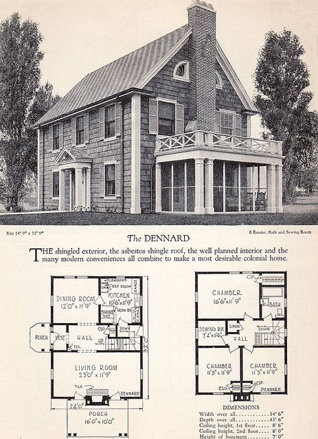 Vintage house plans and design dise o pinterest for Classic colonial home plans