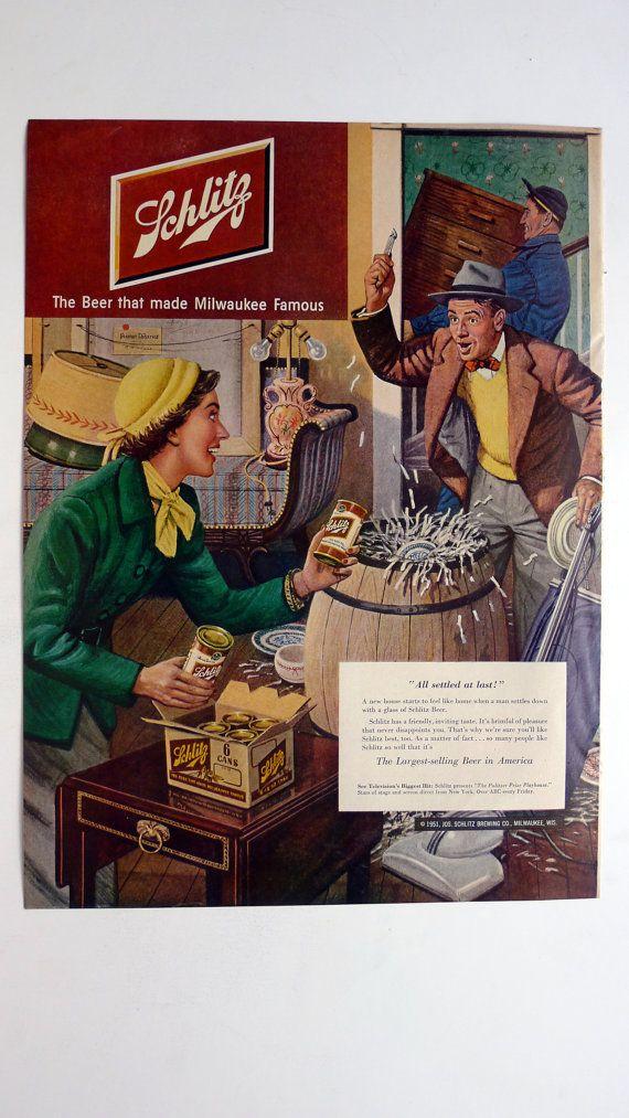 12 best images about schlitz beer on pinterest beer poster advertising and vintage. Black Bedroom Furniture Sets. Home Design Ideas