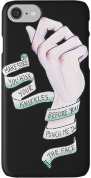 Kiss your Knuckles - The Front Bottoms iPhone 7 Cases