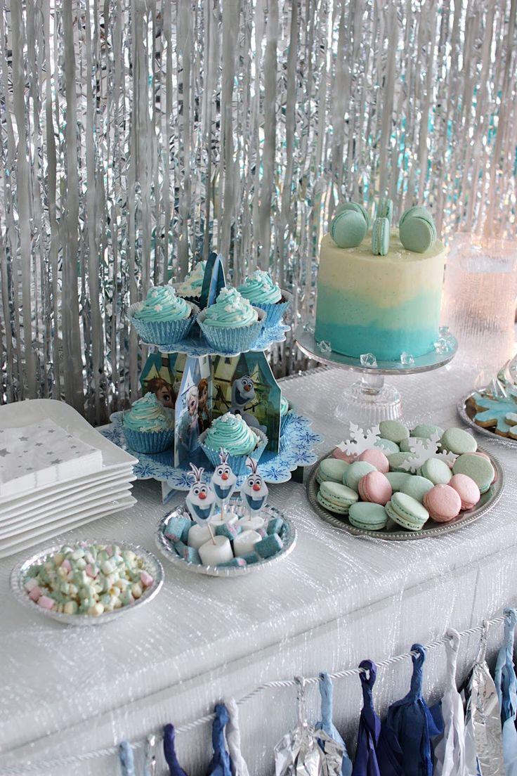 kultahippu: Lasten omat Frozen-juhlat