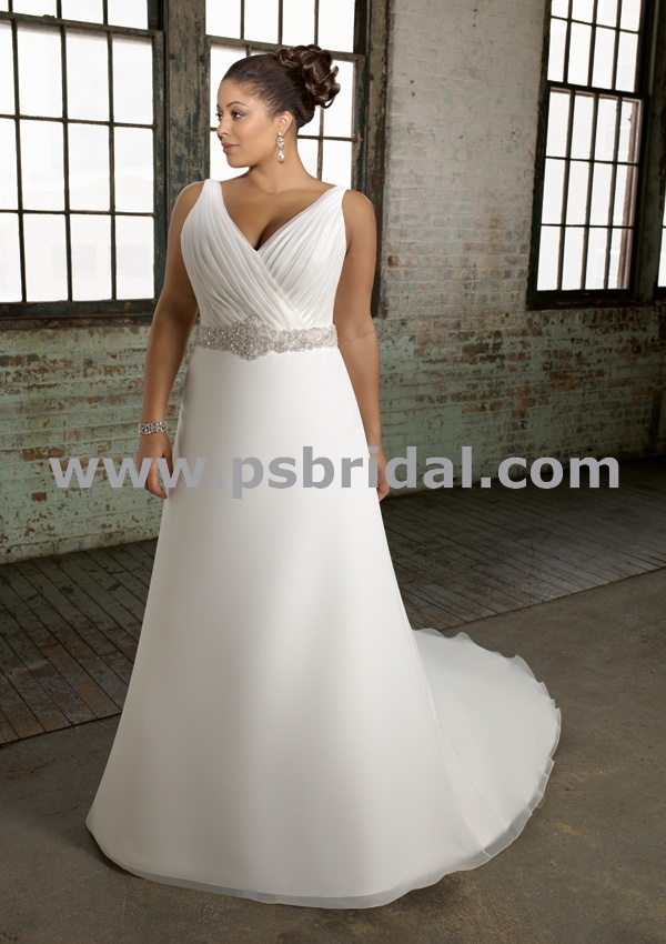 $850 Style 3101 Bridal Gowns - Wedding Gowns -  Wedding Gowns Full Figure Bras Crinolines
