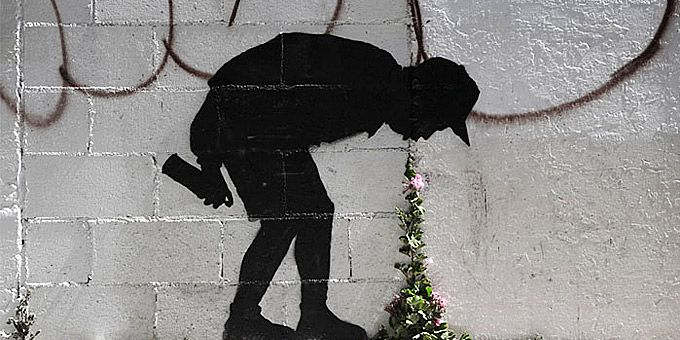 """20 απίθανα graffiti """"παίζουν"""" με την φύση"""