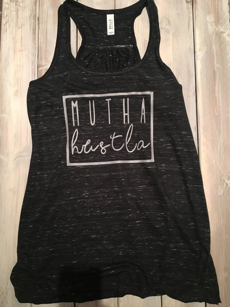 Mutha Hustla racerback tank, Womens tank, Women's fashion – The Little Oz Shop
