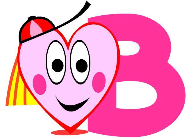 Alphabet pour enfants lettre b imprimer gratuit b grande for Cuisinier francais 7 lettres