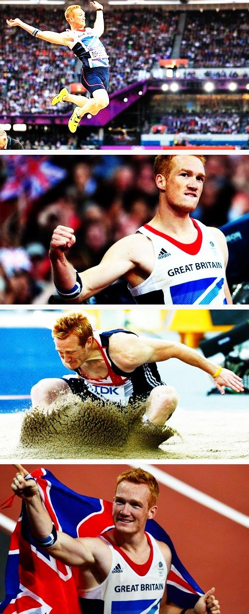 Greg Rutherford  - Long Jump Gold - Great Britain