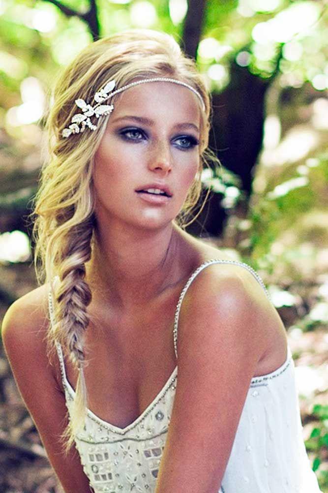 Incredible 1000 Ideas About Braided Wedding Hairstyles On Pinterest Short Hairstyles Gunalazisus