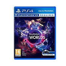 Buy VR Worlds PS VR Game for PS4 Online at johnlewis.com