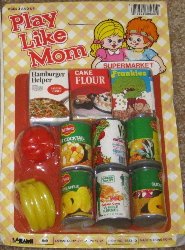 """Vintage Dime Store Toys Oh how I love my little play set like this when I was little. I can remember sitting near a mud hole and pretending to put food in my little tea set pieces then filling them with water & mud to make a good old """"Mud pie"""". Good Memories <3"""