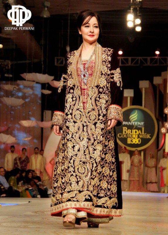 Deepak Perwani Bridal Collection At Pantene Bridal Couture Week 2013 0013