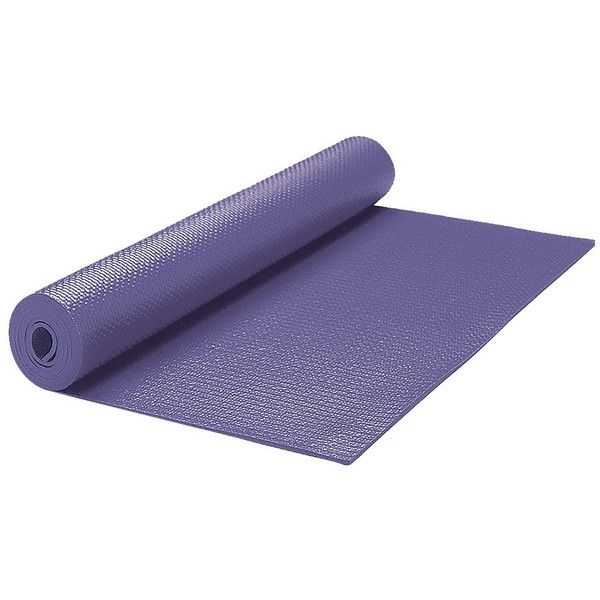 yoga mat at Target (173.285 IDR) ❤ liked on Polyvore featuring sports, fitness and workout