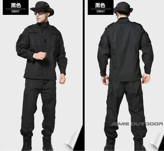 [Visit to Buy] Military ACU woodland camo uniform army combat uniform hunting suit wargame uniform JACKET+PANTS fot outdoor hunting #Advertisement
