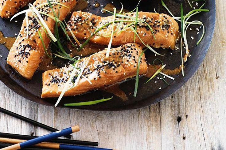 Japanese-Inspired Tamari Salmon | Jessica Sepel
