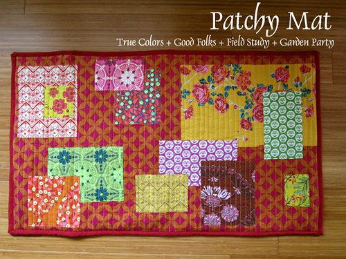 Patchy Mat with True Colors