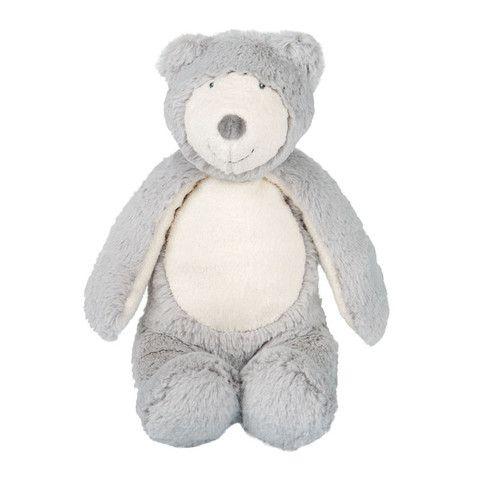 Grey Bear Doll from Moulin Roty