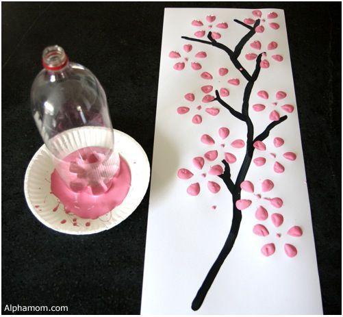 DIY Cherry tree... algún día haré algo así para mi cuarto