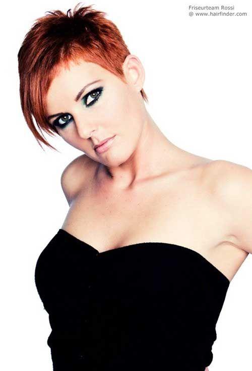 Wirklich Stilvolle 10 Rot Pixie Schnitt für Damen  Smart Frisuren für Moderne Haar