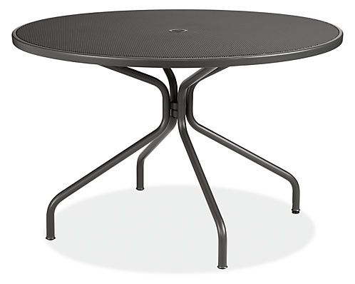 Kona Round Outdoor Table   Modern Outdoor Dining   Modern Outdoor Furniture    Room U0026 Board