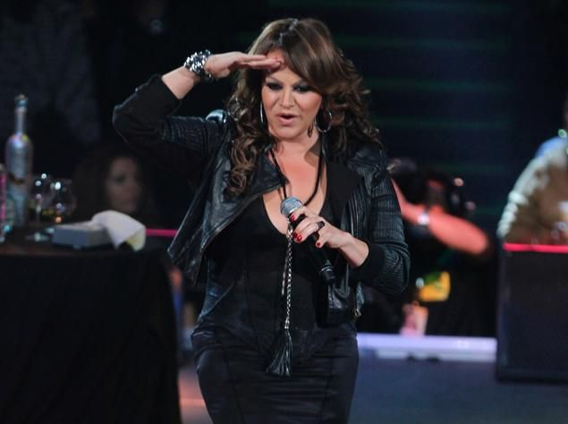 sing dat have been killed by airplane cashes | Mexican singer Jenni Rivera sings during her last concert at the Arena ...