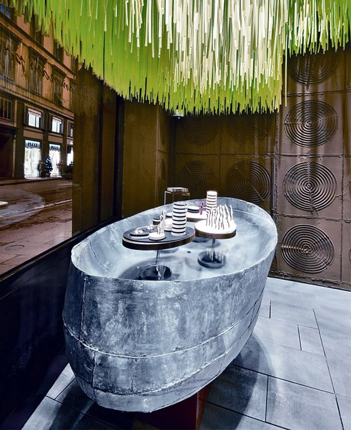Dodo Boutique jewelry store, Florence, Italy designed by Paola Navone