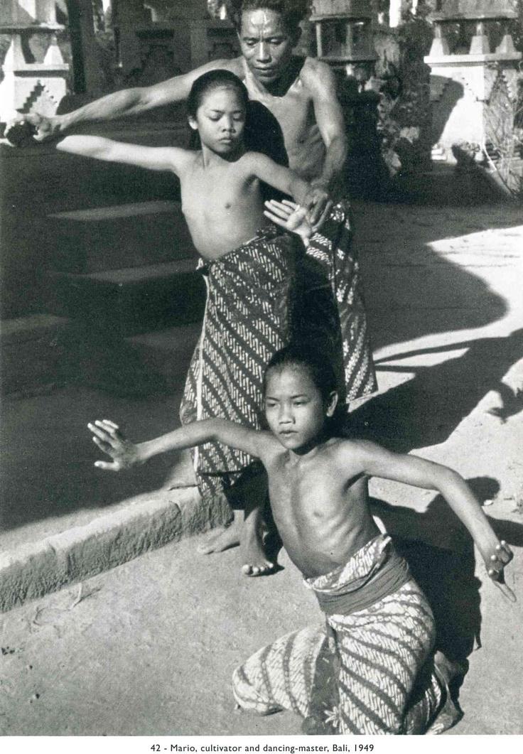 Mario, cultivator and dancing Master, Bali, 1949 Henri Cartier-Bresson