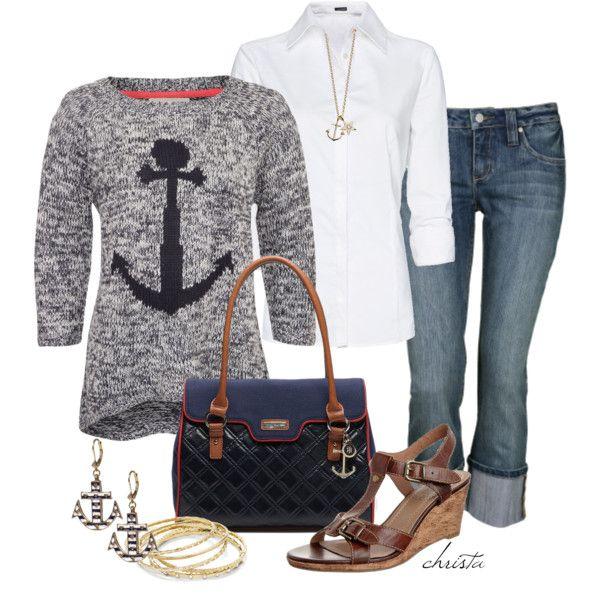 Anchors - Polyvore Cute bag...