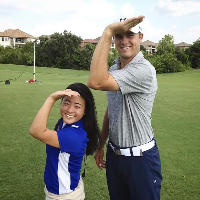 Throwing what you know with Jordan Spieth. TSM.