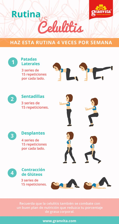 Combate la celulitis en tus piernas con estos sencillos ejercicios.