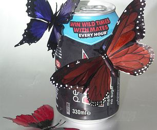 Drink Can Butterflies--Good Tutorial with lots of detail