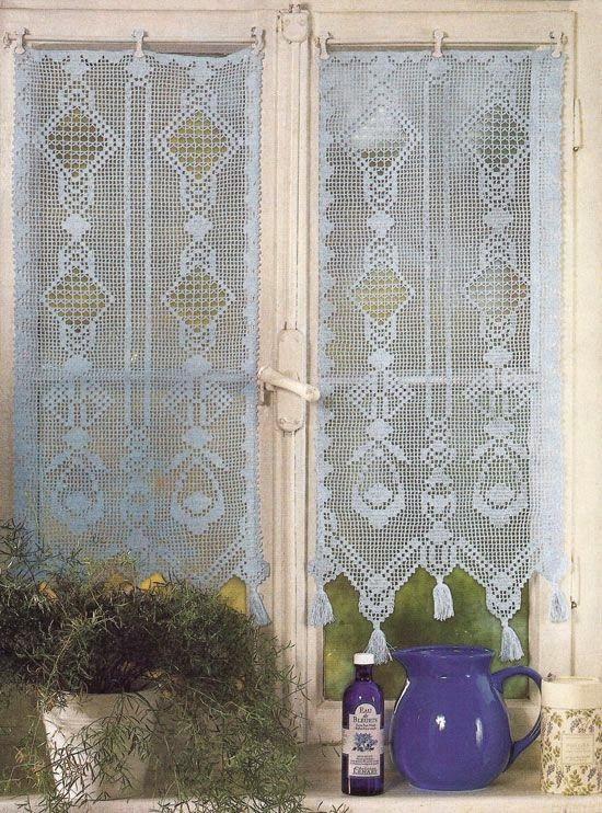 Victoria - Handmade Creations : Τρεις κουρτίνες σαν όνειρο για αξιοζήλευτα παράθυρα