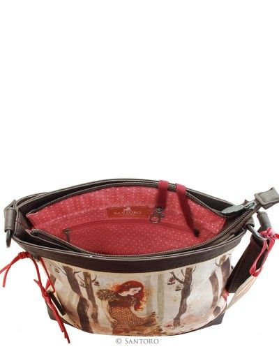 Shoulder Bag - Autumn Leaves, Santoro's Willow