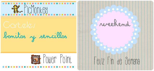 Hacer carteles y títulos: fácil, rápido y bonito. Tutorial Picmonkey | Creative Mindly