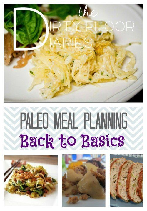Paleo Meal Planning, Back to Basics  #Paleo #MealPlanning with Printable Shopping List!