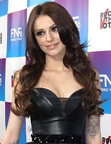 Cher Lloyd  singer model and actress