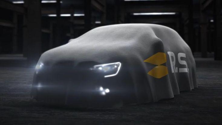 Megane 4 RS : Renault Sport en dévoile un tout petit peu !