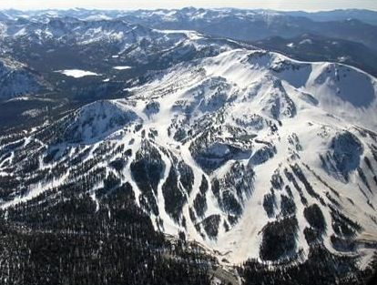 Mammoth Ski Resort - Only skied there once, when I lived in San Diego, but it was awesome; broke my thumb on the last day, crossing the bunny hill! (crossed skis into a face-plant!)