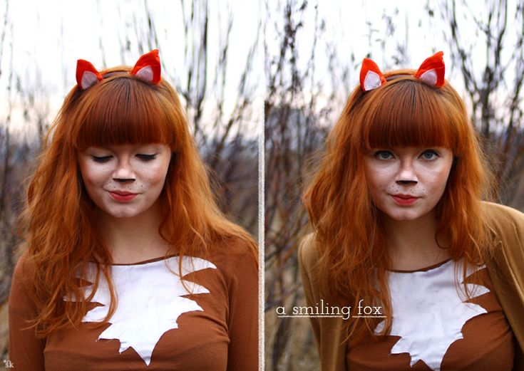 how to make a fox halloween costume