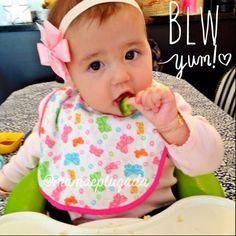 Introdução Alimentar BLW | Mamãe Plugada