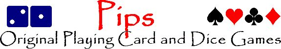 Pips: Original Playing Card and Dice Games..lists number of players possible for the game