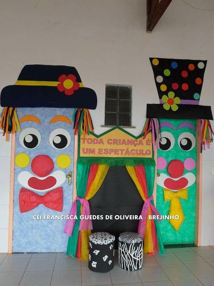 M s de 1000 ideas sobre decoraciones de circo en pinterest for Puerta wonder woman