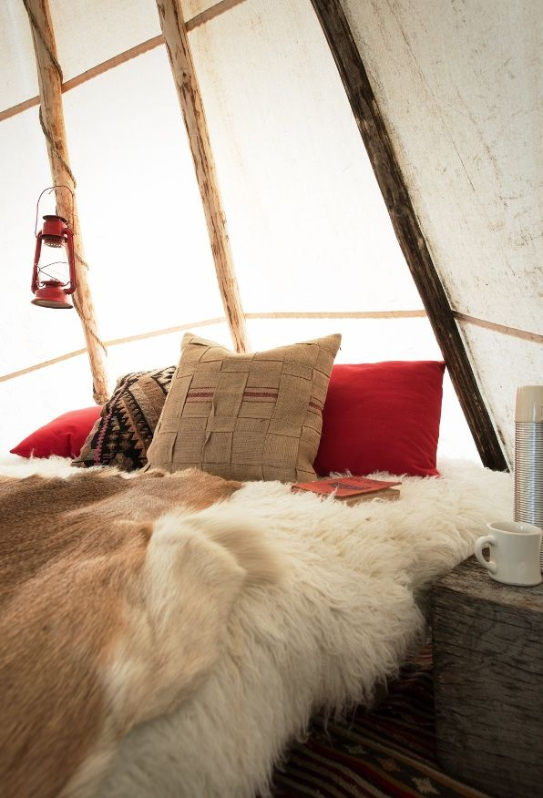 Rough-Luxe Teepees — Found Fancy