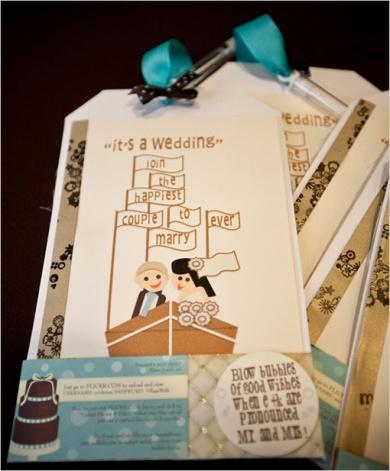 Disney Inspired Wedding Invite