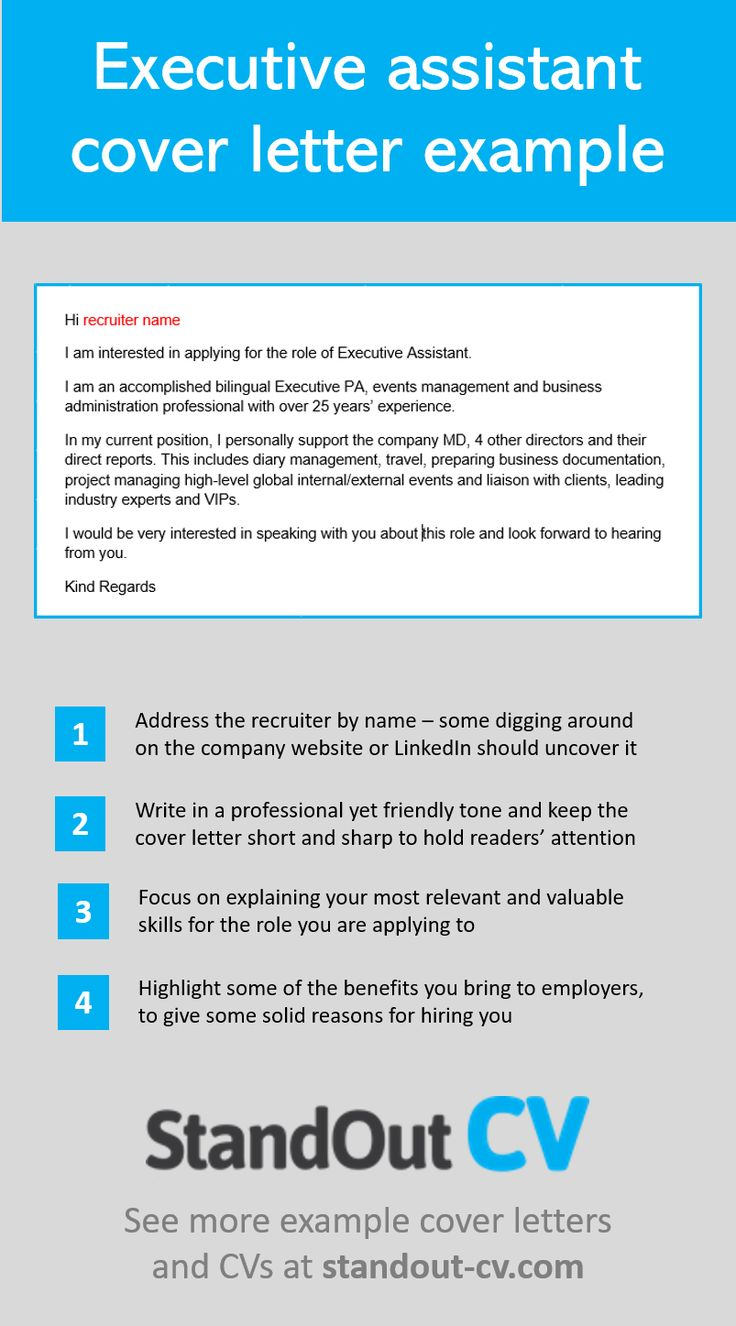 Learn how to write a cover letter for a personal or