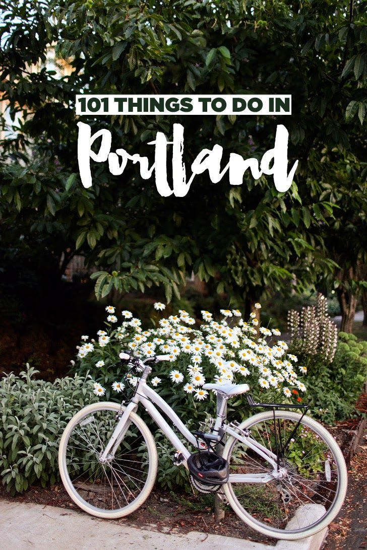 Fun Things to Do in Portland Oregon.
